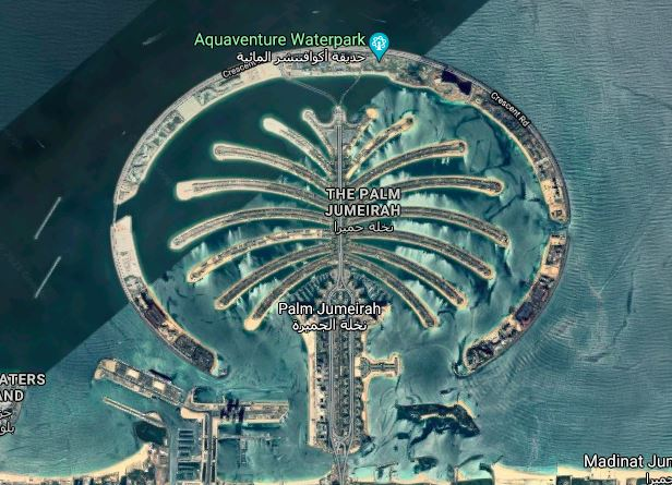 Read more about the article List of Artificial Island in Dubai