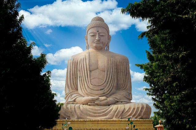 Buddha Statue in Gaya