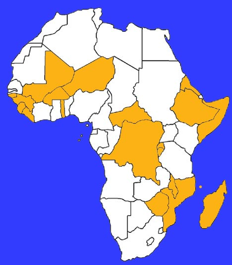 List Of Poorest Countries In Africa - 20 poorest countries in the world