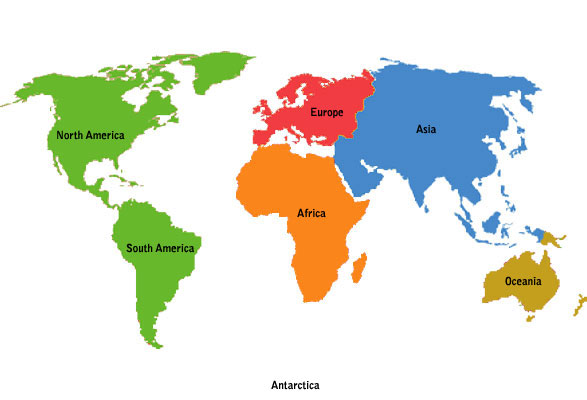 List of Top 6 Continent with Most Millionaires