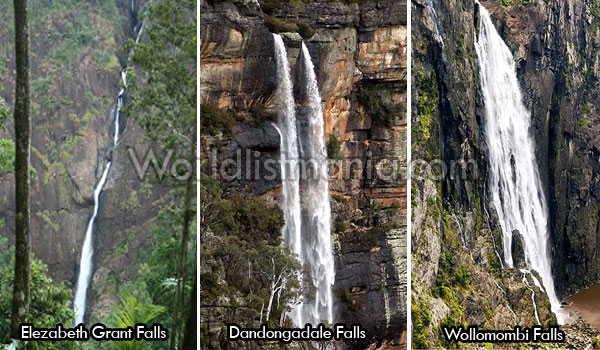 Tallest Waterfalls in Australia