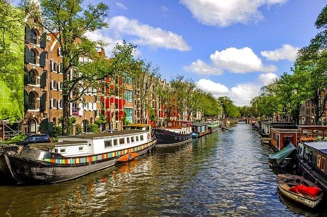 Waterway in Netherlands