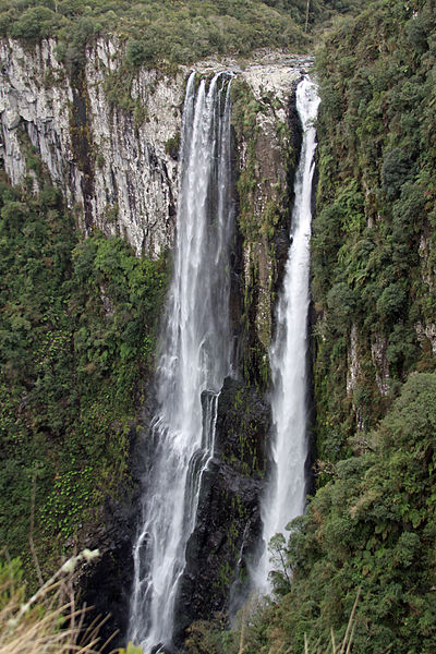 Read more about the article List of 10 Tallest Waterfalls in Brazil