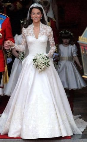 Royal Wedding Dress for The Duchess of Cambridge