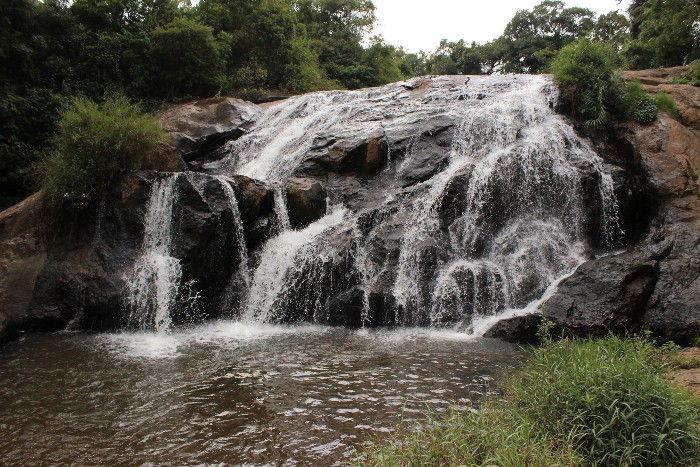 Catherine falls, Aravenu