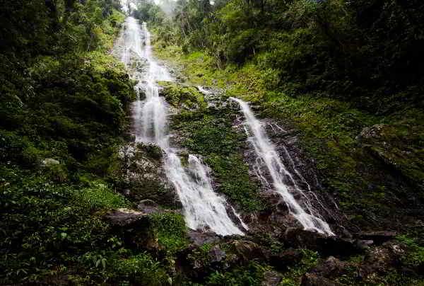 Langanan falls