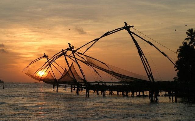 Fishing Nets in Vypeen Island