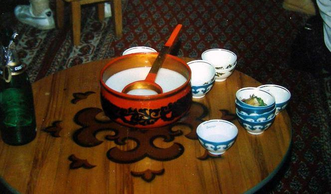 Kumis - A fermented drink