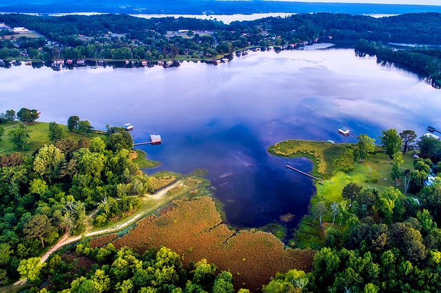 Read more about the article 40 Largest Lakes in Alabama by Surface Area